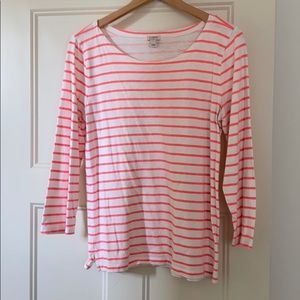 Striped tee from J. Crew Factory